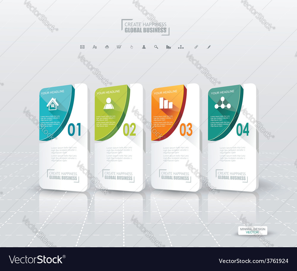 Modern options bannercan be used for workflow vector   Price: 1 Credit (USD $1)