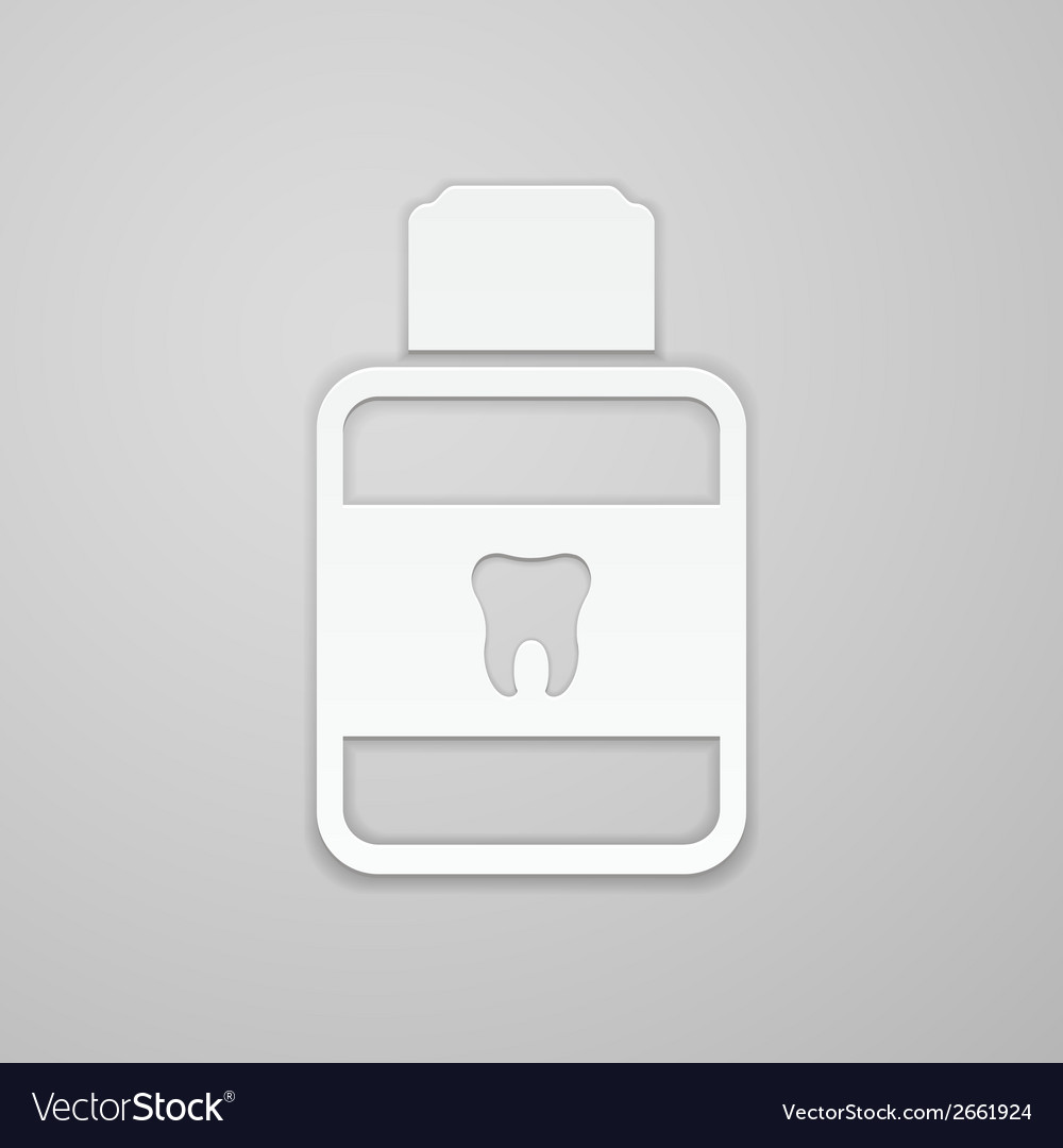 Mouthwash vector | Price: 1 Credit (USD $1)