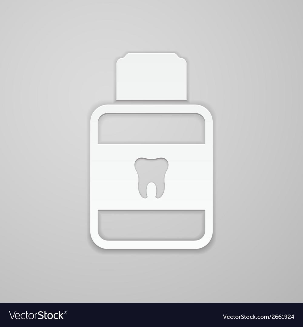 Mouthwash vector | Price: 1 Credit (USD $1)