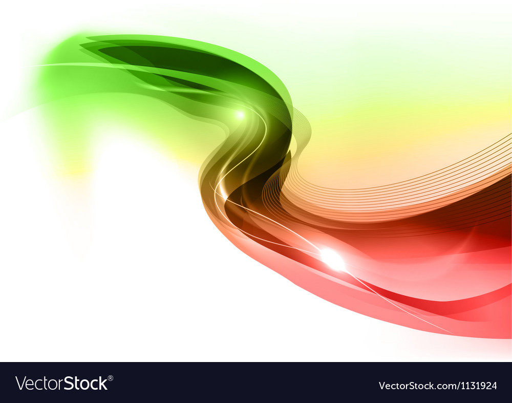 Neon light white green red vector | Price: 1 Credit (USD $1)