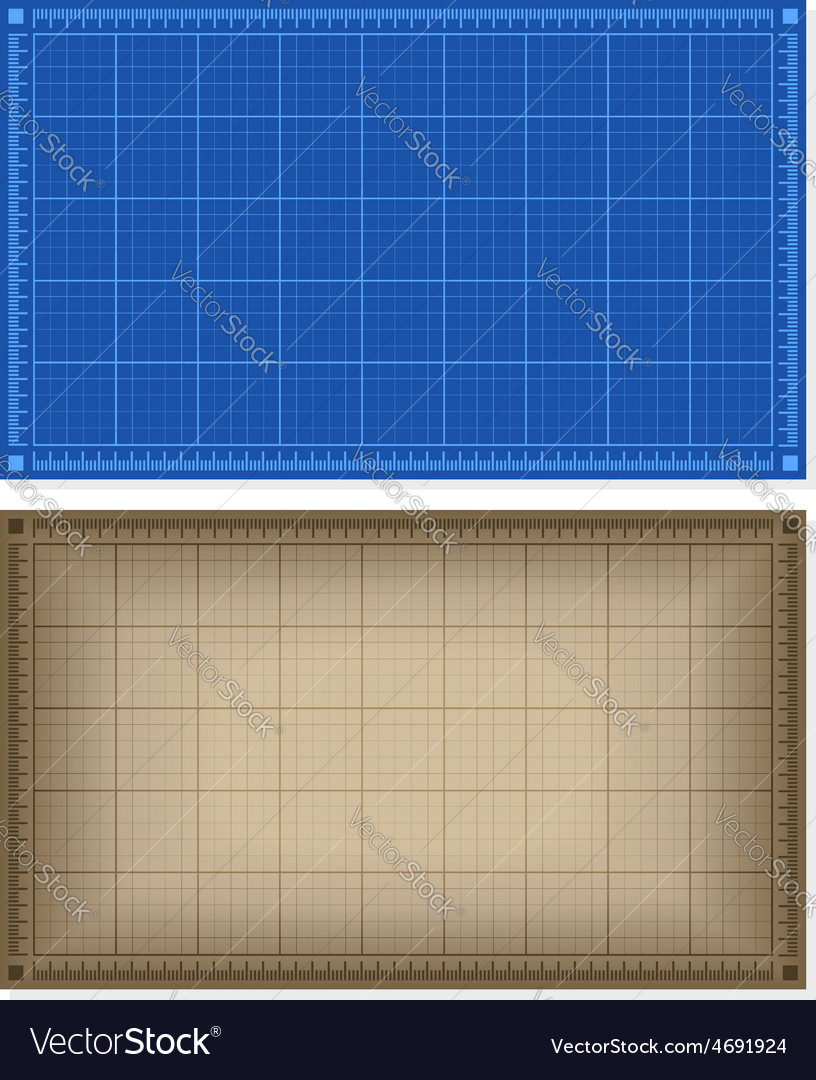 Set of blueprint backgrounds vector | Price: 1 Credit (USD $1)