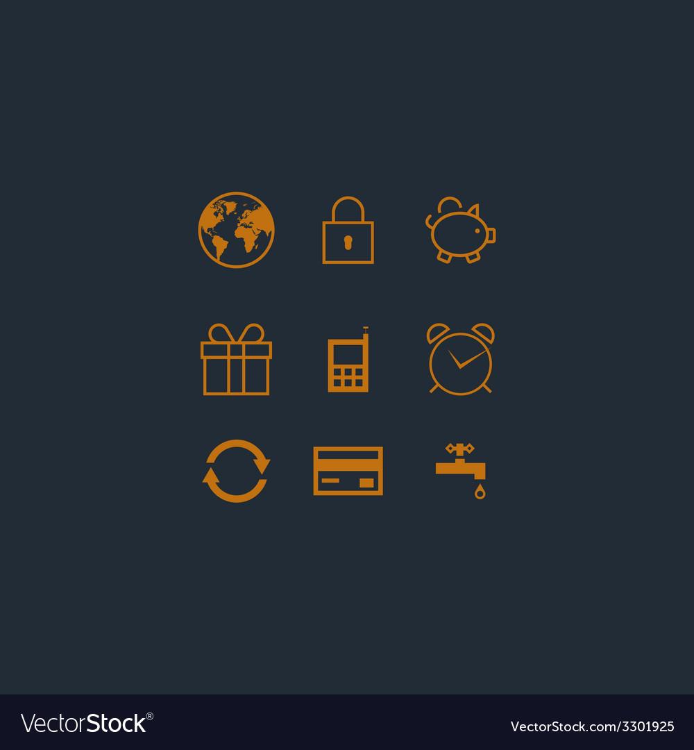 Design icons set vector   Price: 1 Credit (USD $1)