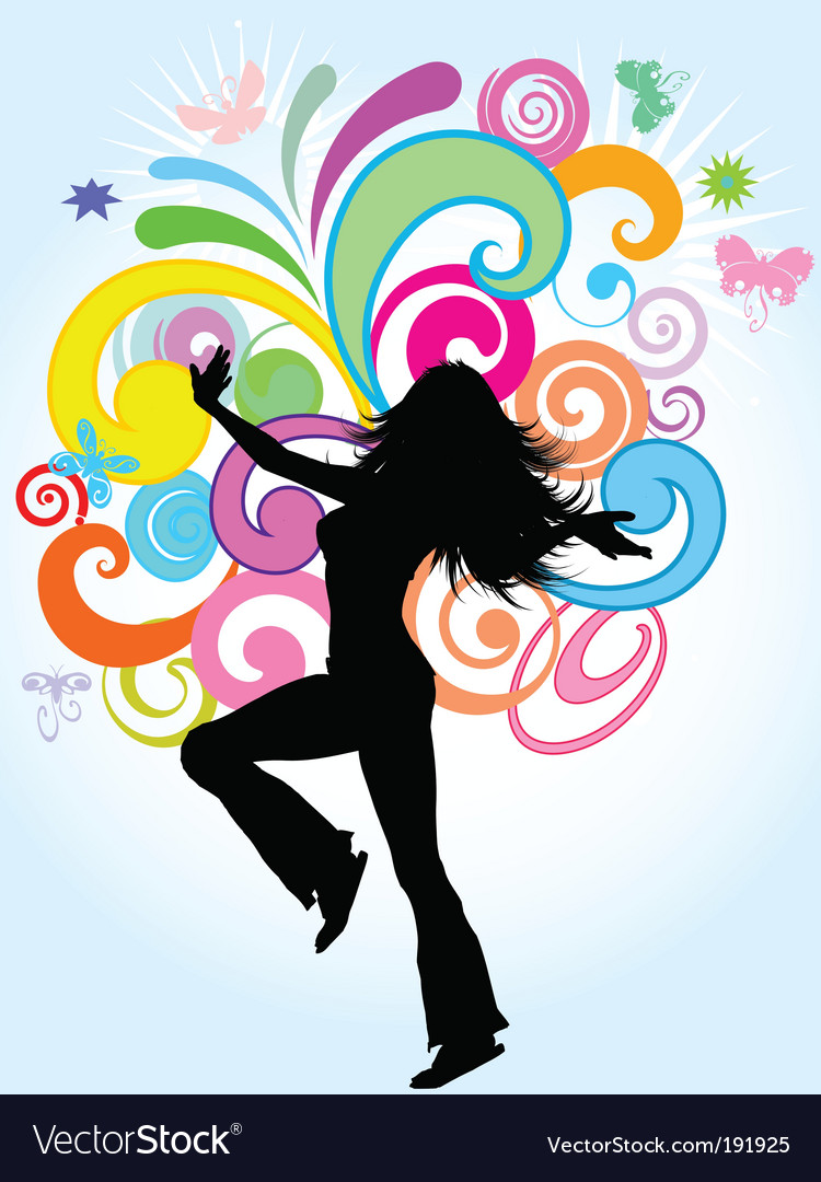 Funky female vector | Price: 1 Credit (USD $1)
