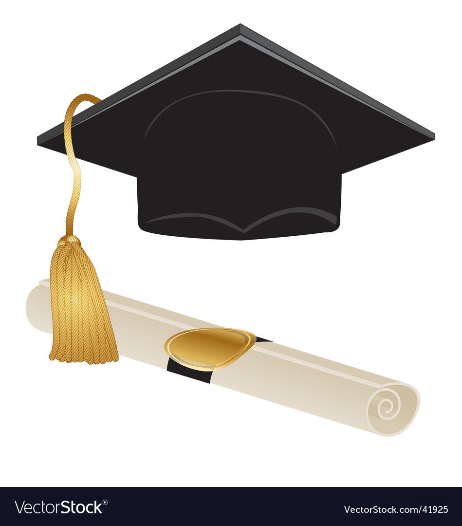 Graduation kit vector | Price: 1 Credit (USD $1)