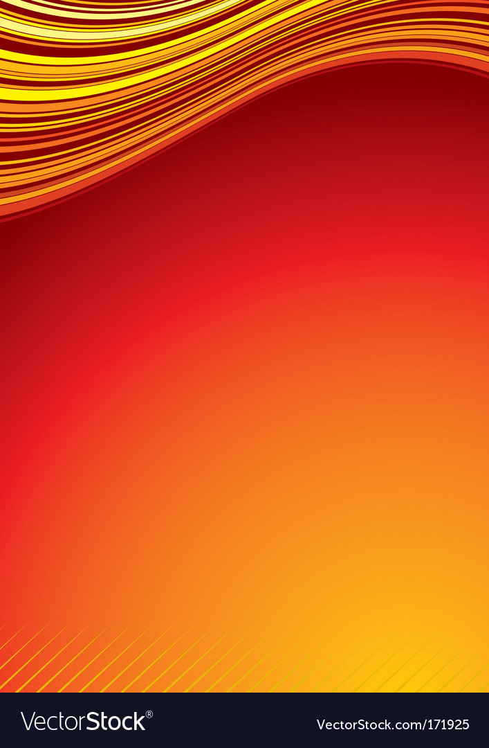 Heat background cover vector | Price: 1 Credit (USD $1)