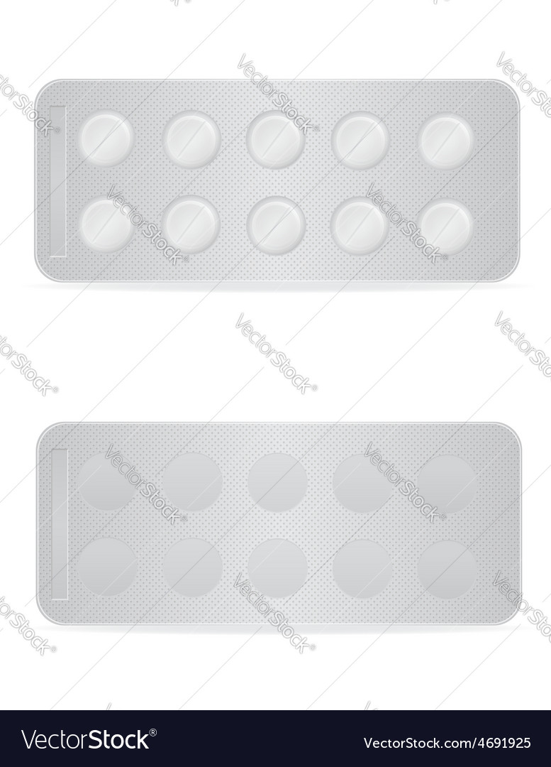 Pill in package 03 vector | Price: 1 Credit (USD $1)