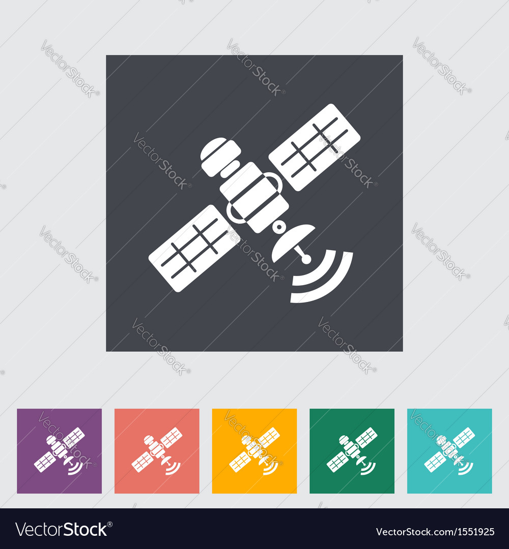Satelite vector | Price: 1 Credit (USD $1)