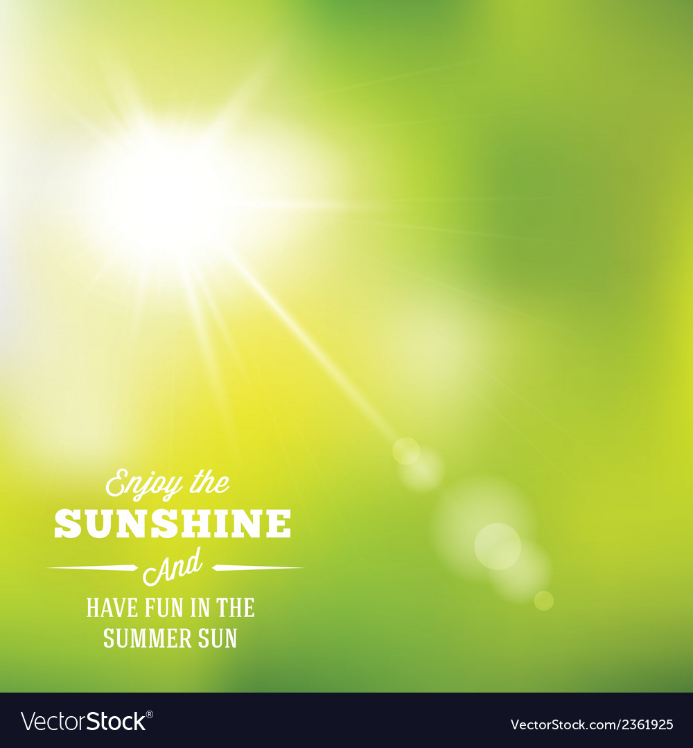 Warm summer sun abstract background with vector | Price: 1 Credit (USD $1)