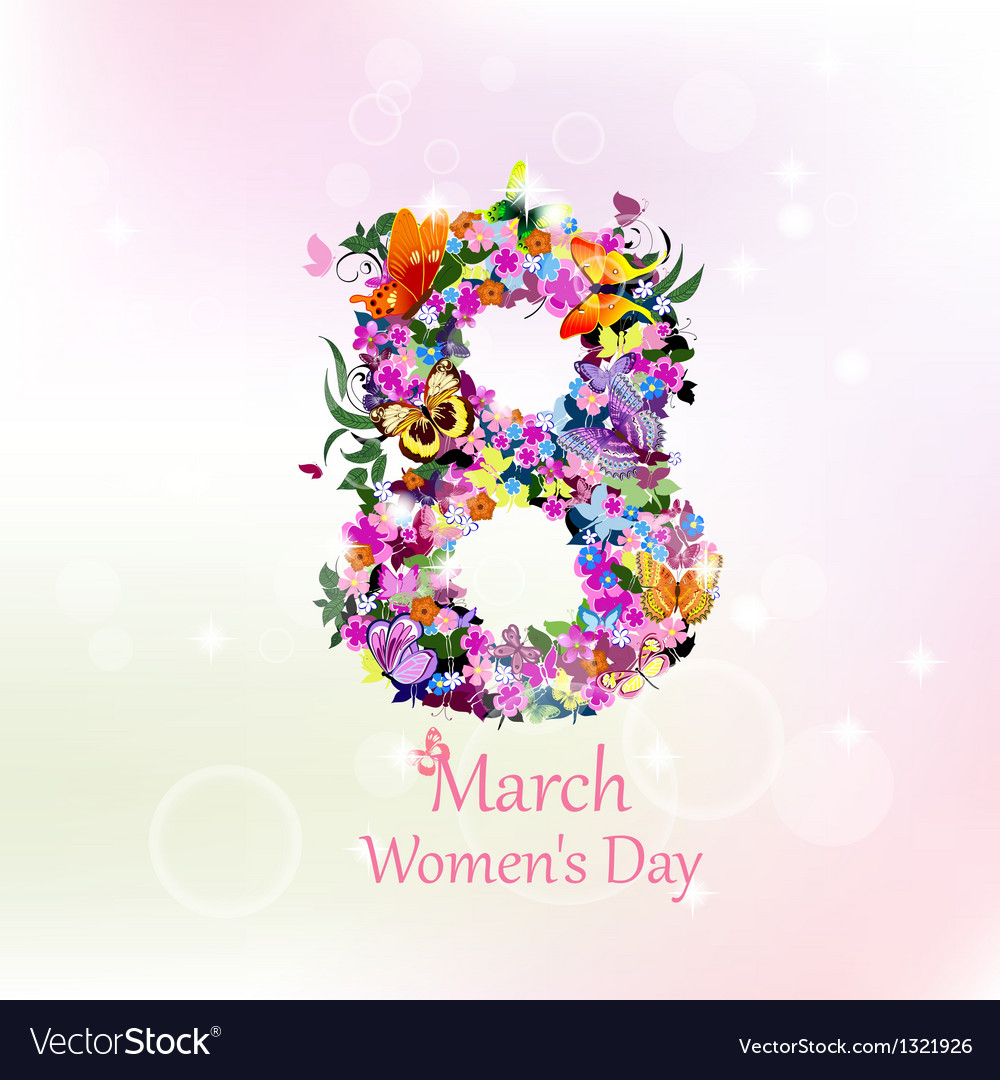8 march womens day vector | Price: 1 Credit (USD $1)