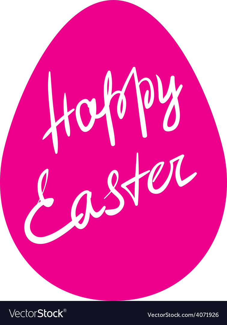 Easter egg - happy easter vector | Price: 1 Credit (USD $1)