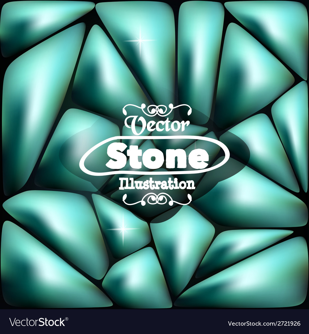 Stone blue background for your ideas vector | Price: 1 Credit (USD $1)