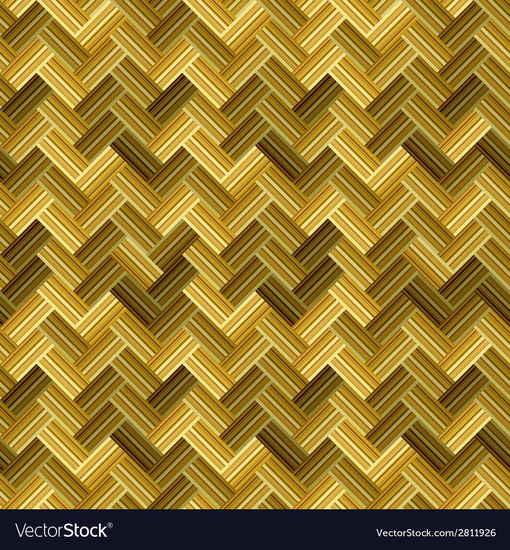 Straw wicker seamless pattern vector | Price: 1 Credit (USD $1)