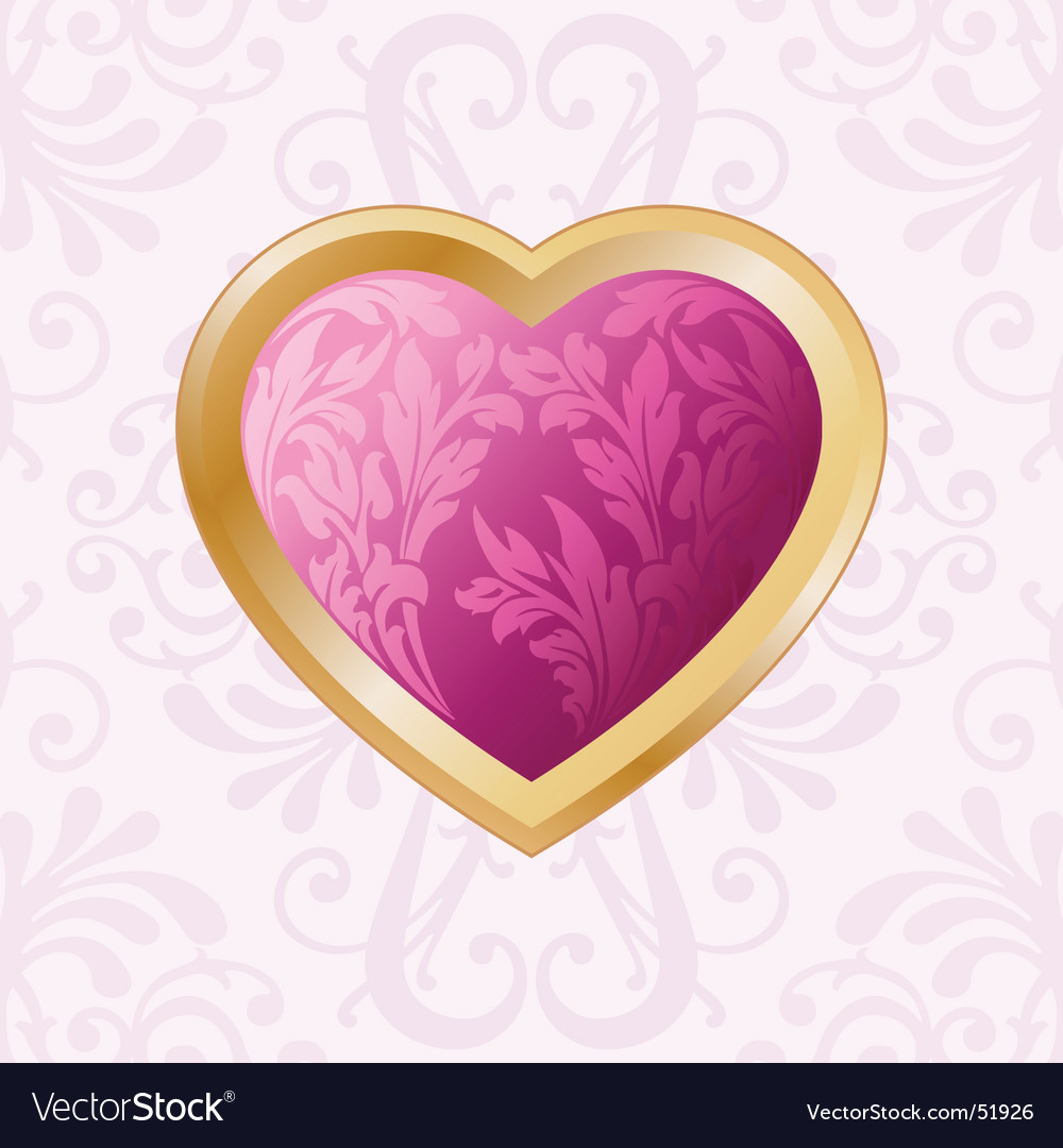 Valentine broach vector | Price: 1 Credit (USD $1)