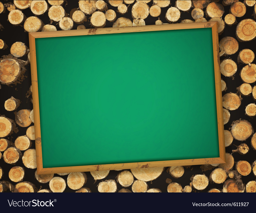 School empty blackboard vector | Price: 1 Credit (USD $1)