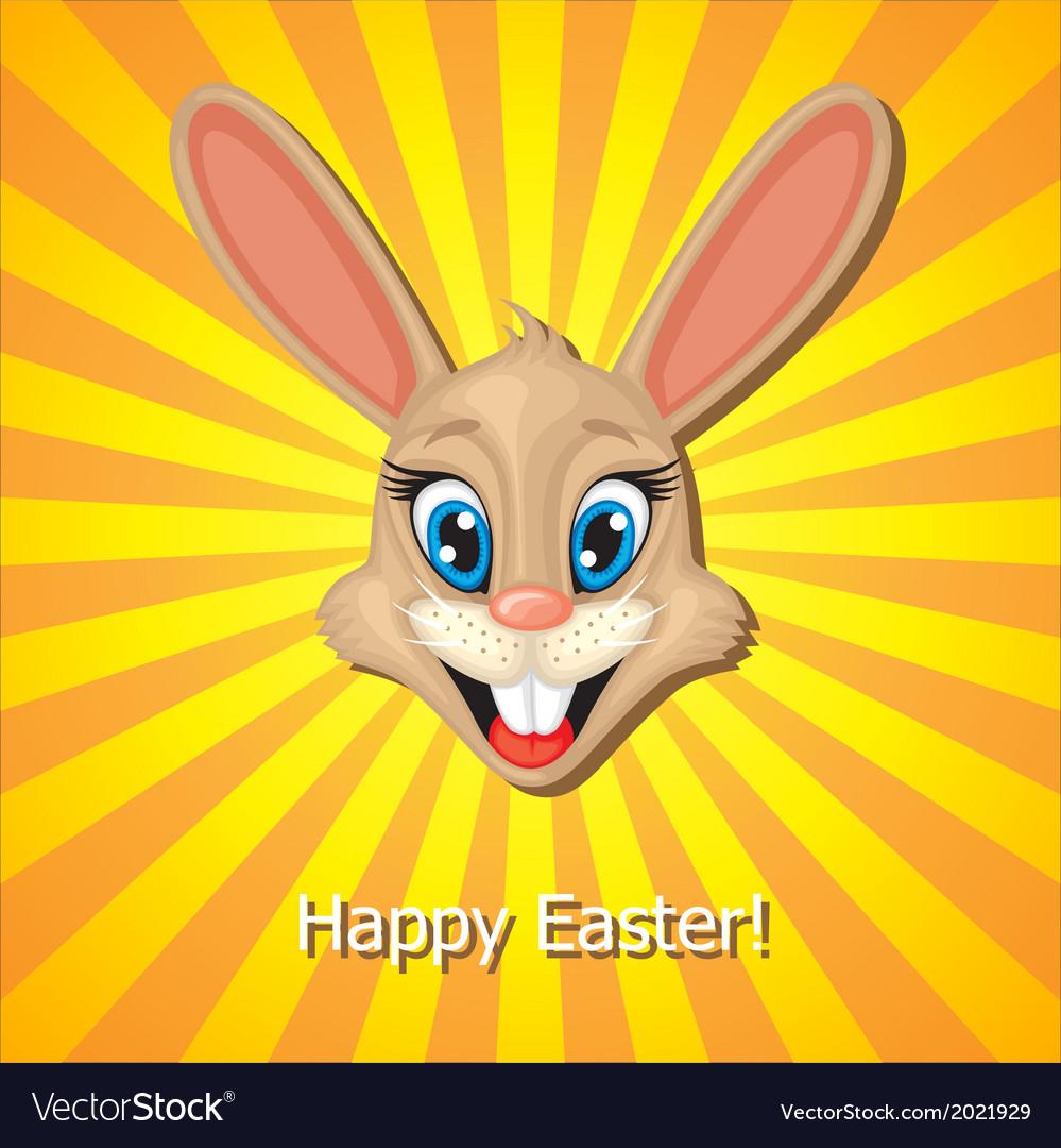 Bunny head vector | Price: 1 Credit (USD $1)