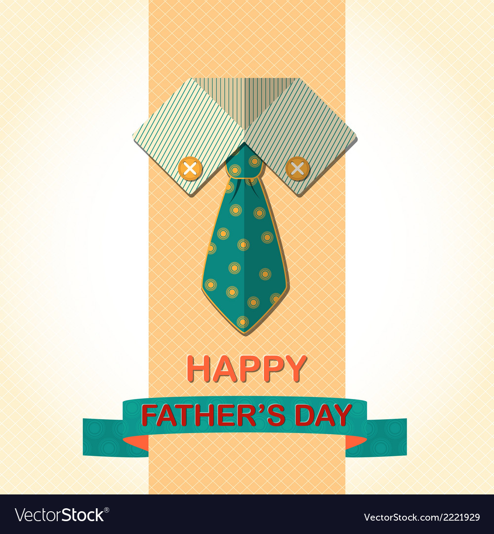 Fathers day card vector | Price: 1 Credit (USD $1)