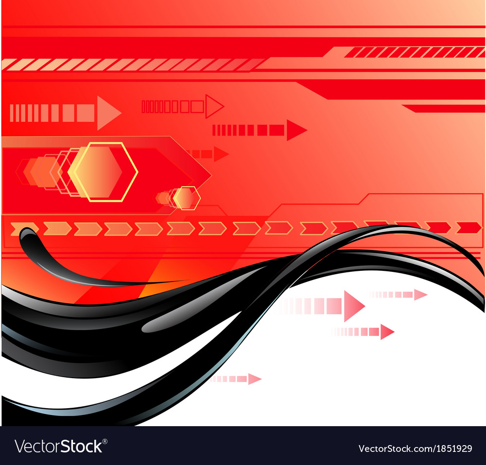 Red background with oil vector | Price: 1 Credit (USD $1)