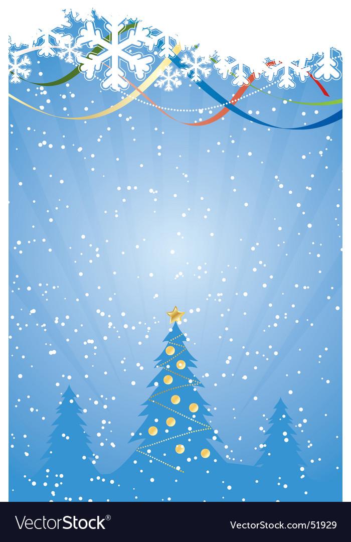 Winter snowflake vector | Price: 1 Credit (USD $1)