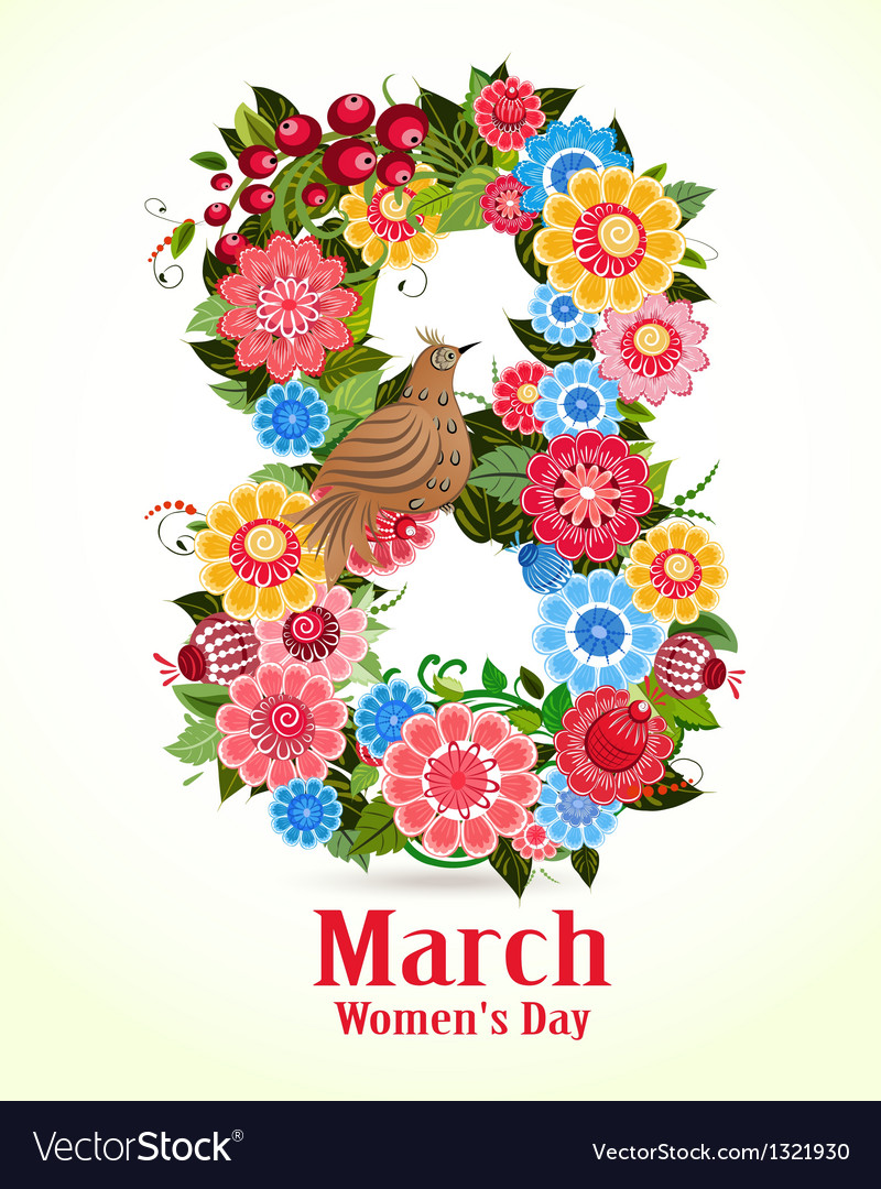 8 march women day vector | Price: 1 Credit (USD $1)