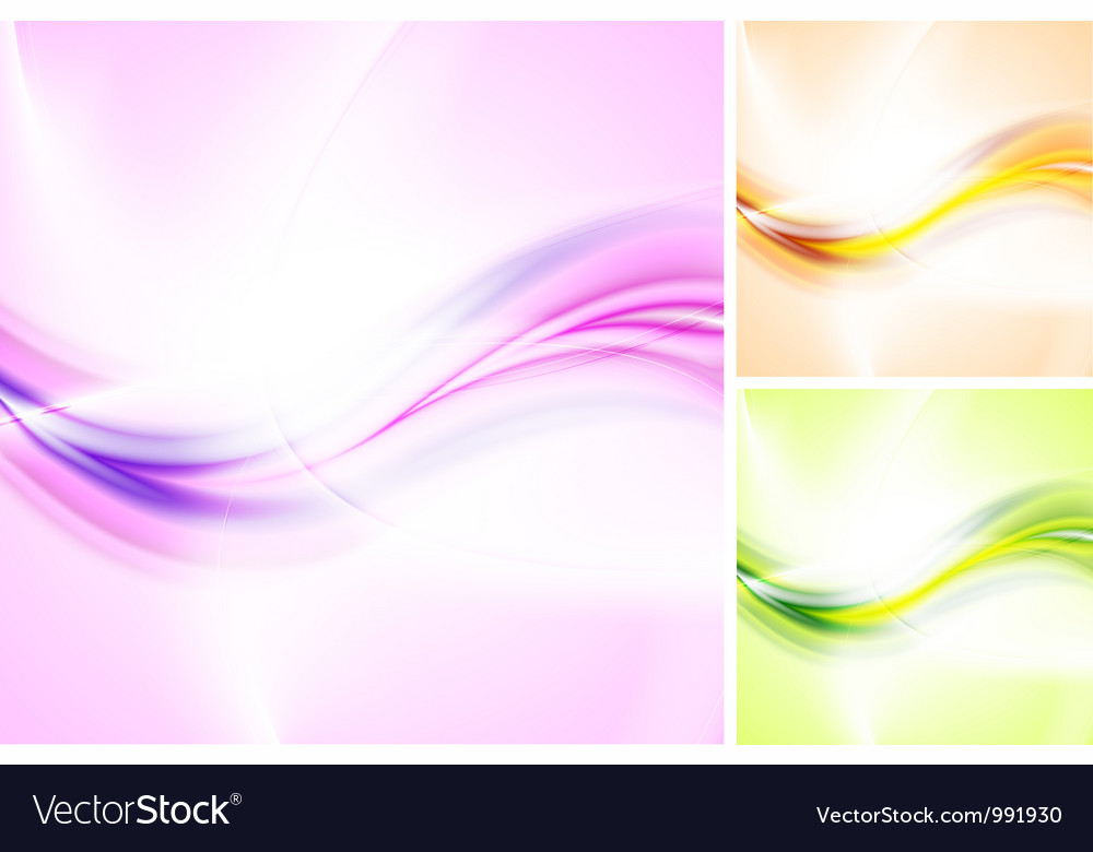 Bright abstract waves vector | Price: 1 Credit (USD $1)