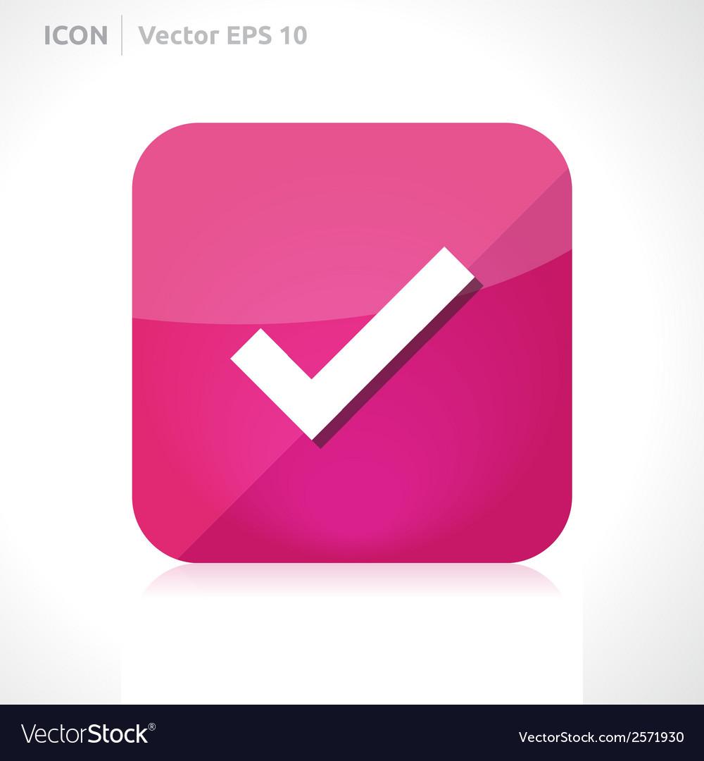Check icon vector | Price: 1 Credit (USD $1)