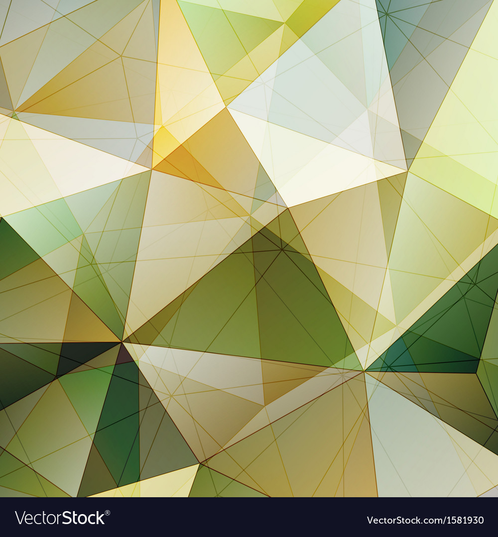 Color triangle abstract background vector | Price: 1 Credit (USD $1)