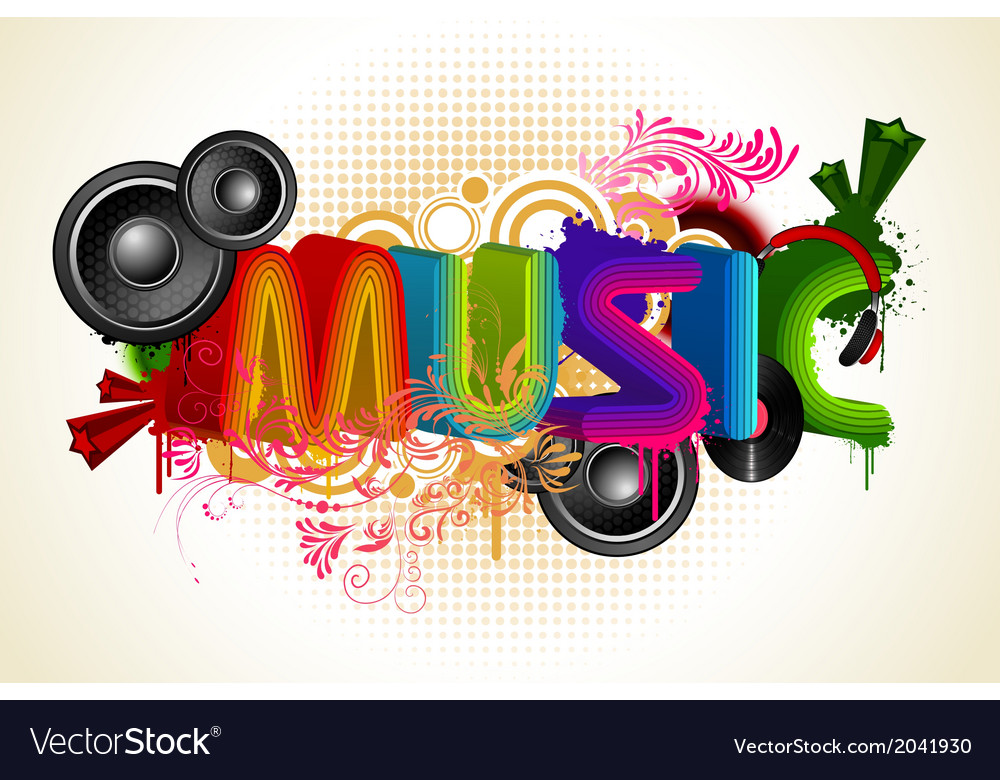 Musical background vector   Price: 1 Credit (USD $1)