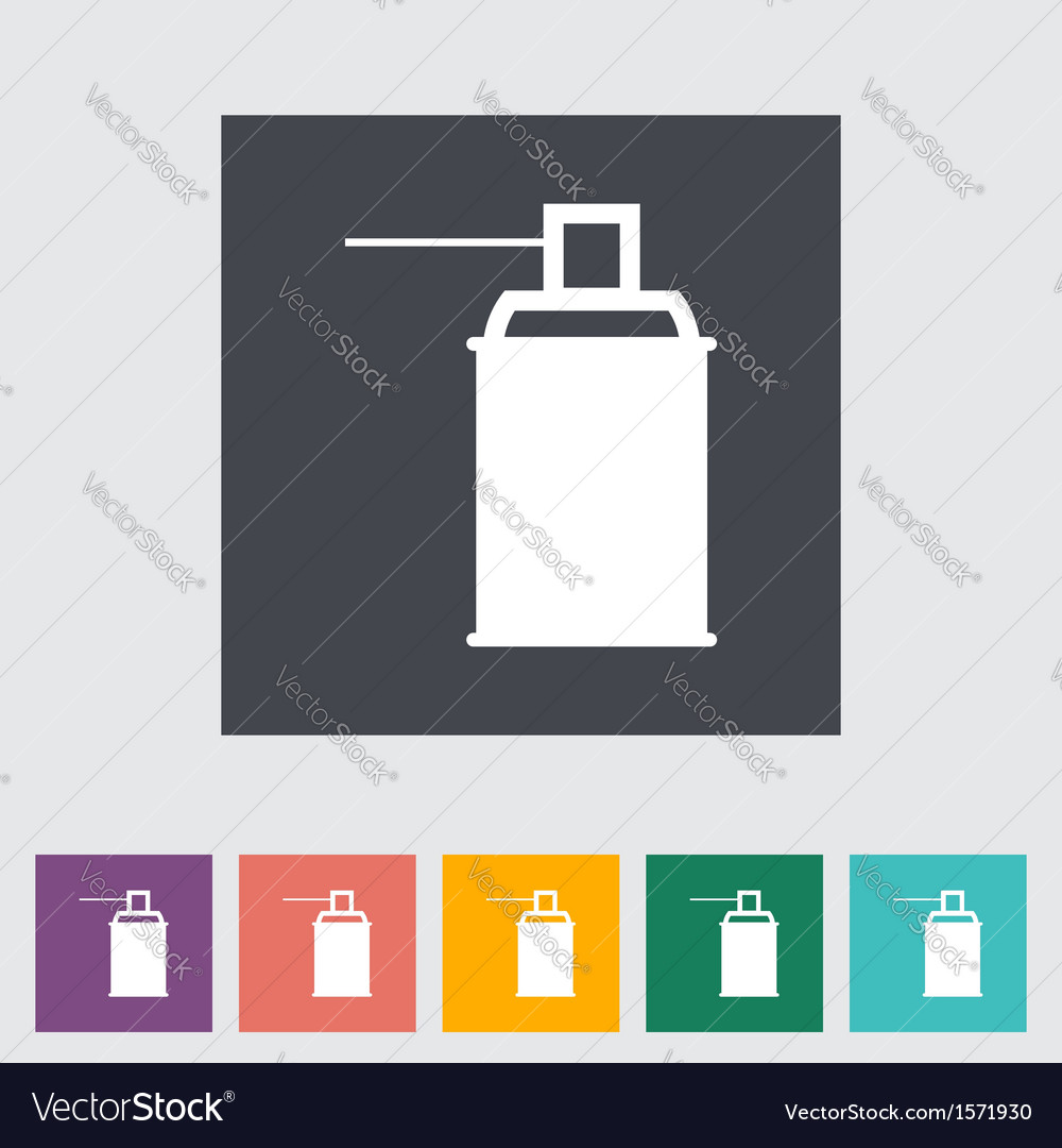 Spray with chemicals vector | Price: 1 Credit (USD $1)