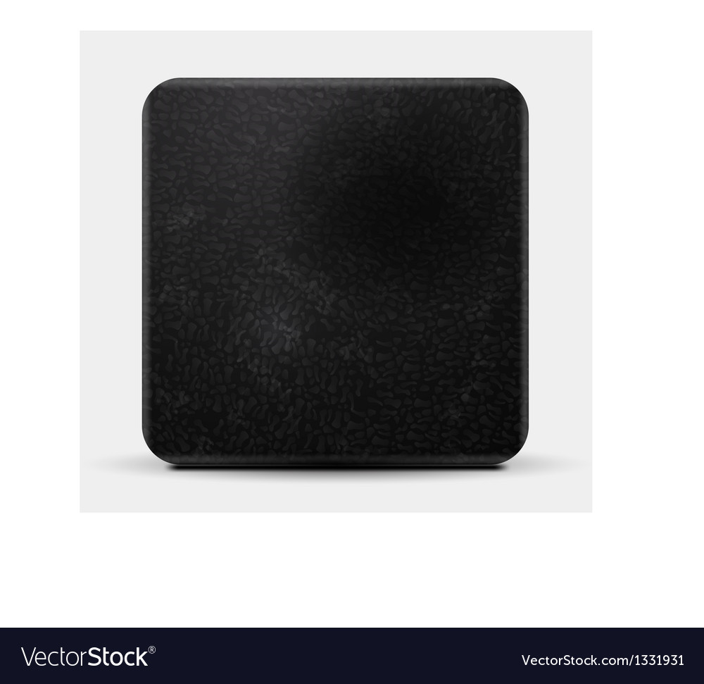 Black leather square design vector | Price: 1 Credit (USD $1)