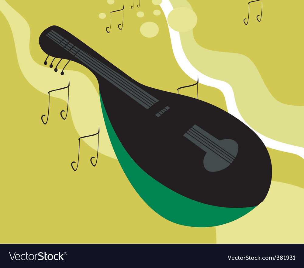 Mandolin vector | Price: 1 Credit (USD $1)