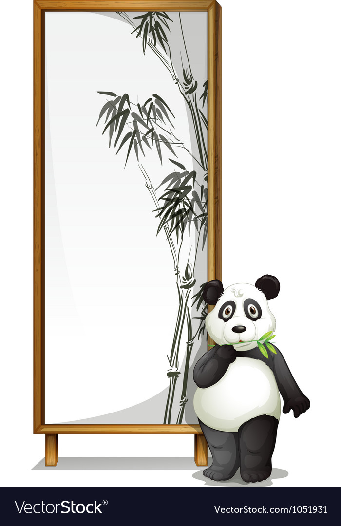 Panda vector | Price: 3 Credit (USD $3)