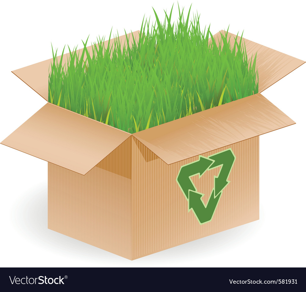 Recyclable open box vector | Price: 3 Credit (USD $3)