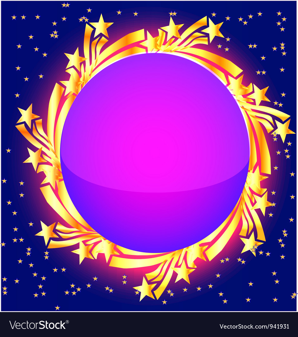Star burst frame vector | Price: 1 Credit (USD $1)