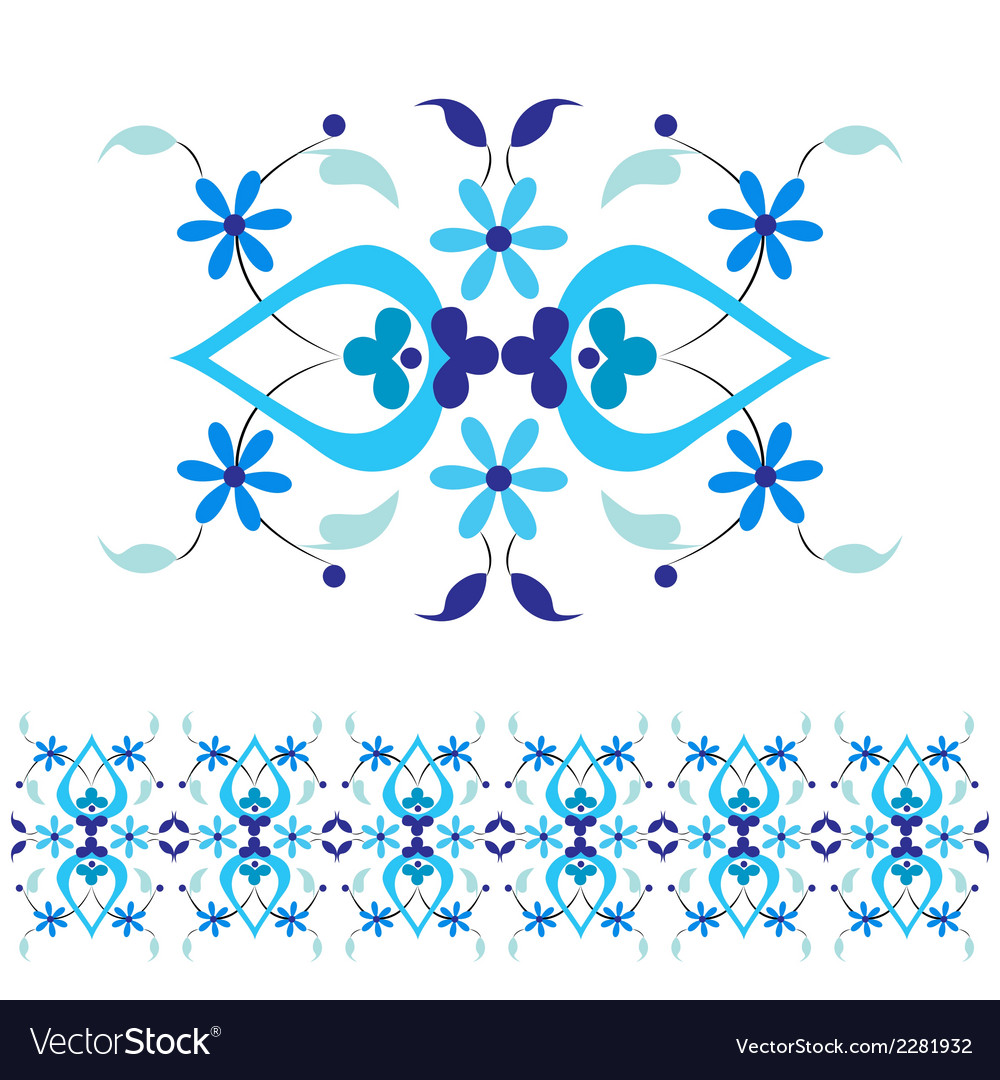 Ottoman motifs design series with thirty nine vector | Price: 1 Credit (USD $1)