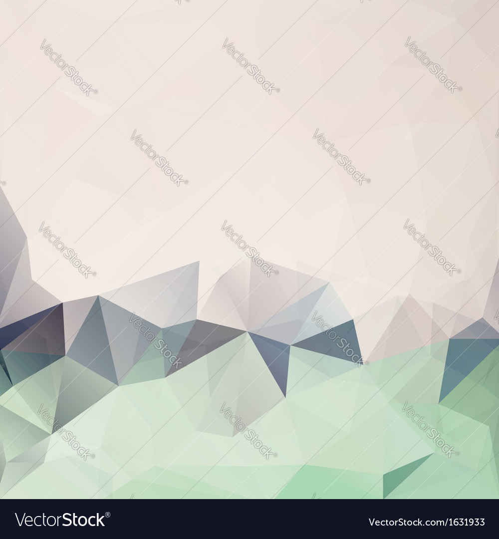 Abstract triangle geometrical background vector | Price: 1 Credit (USD $1)