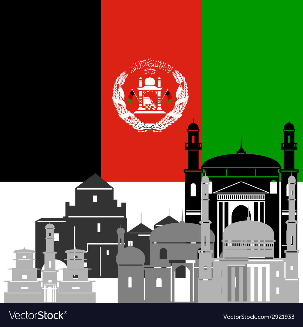 Afghanistan vector | Price: 1 Credit (USD $1)