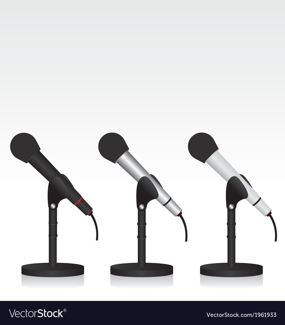 Microphone vector   Price: 1 Credit (USD $1)
