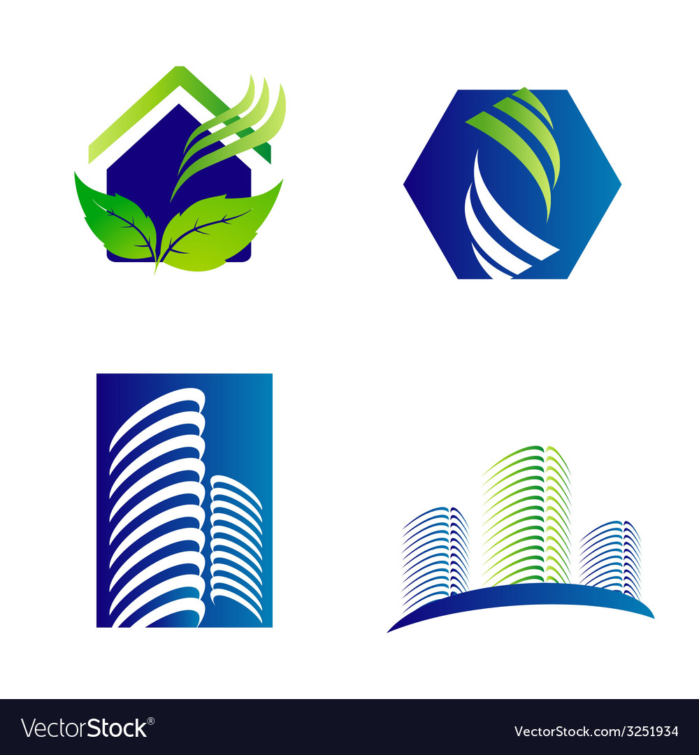 Building construction architecture company logo se vector | Price: 1 Credit (USD $1)