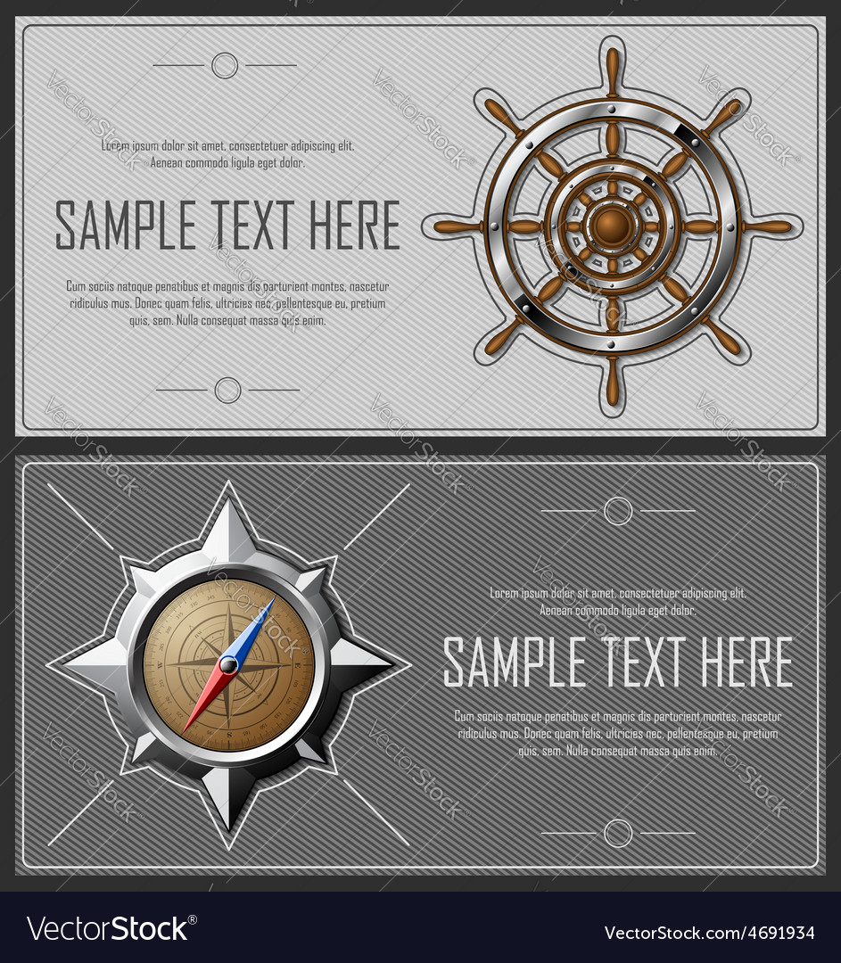 Set of grey abstract flyers vector | Price: 3 Credit (USD $3)