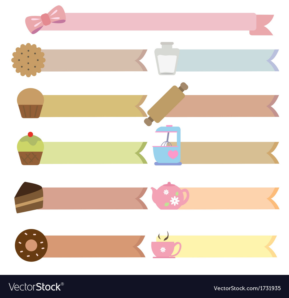 Tag bakery vector | Price: 1 Credit (USD $1)