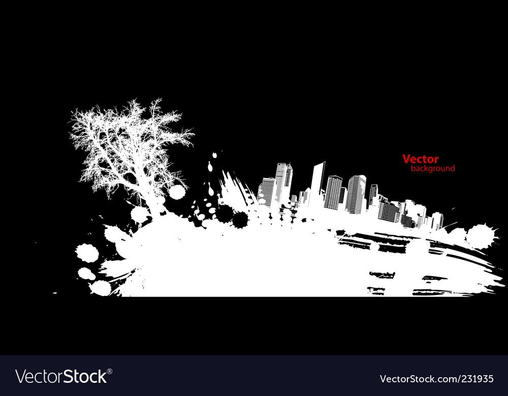 Urban splash vector | Price: 1 Credit (USD $1)