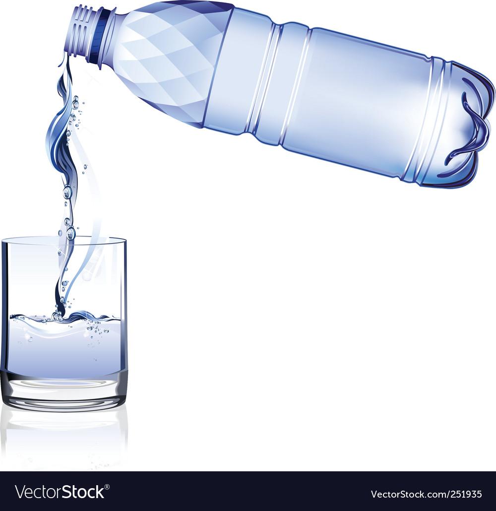 Water bottle vector | Price: 3 Credit (USD $3)