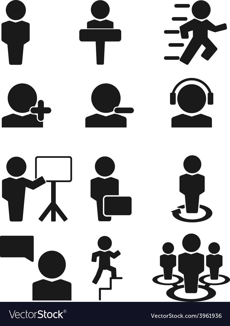 Man person people icon vector | Price: 1 Credit (USD $1)