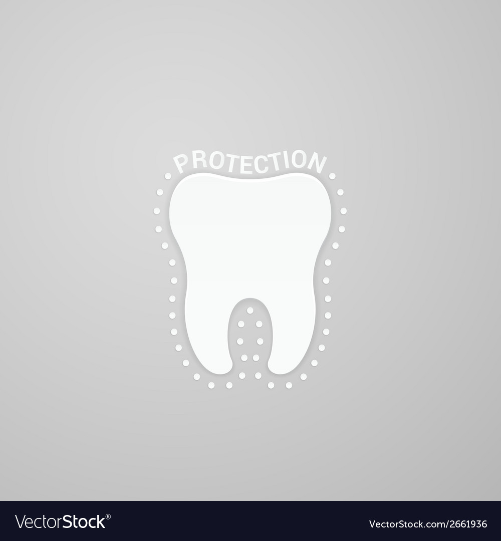 Protection tooth vector | Price: 1 Credit (USD $1)