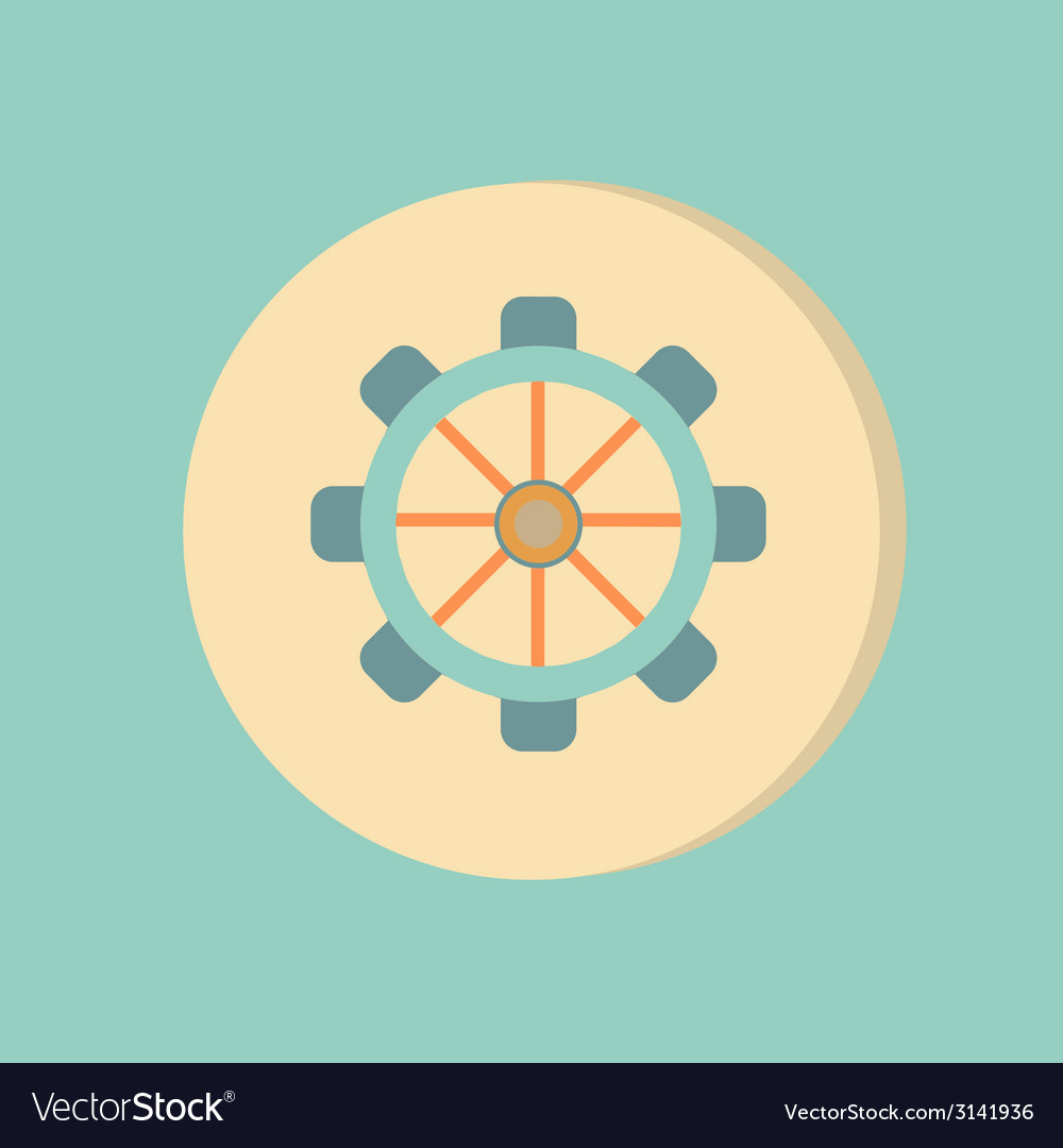 Symbol settings cogwheel icon setting and repair vector | Price: 1 Credit (USD $1)
