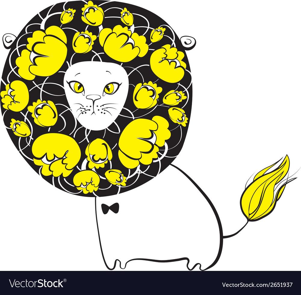 Cute lion vector | Price: 1 Credit (USD $1)