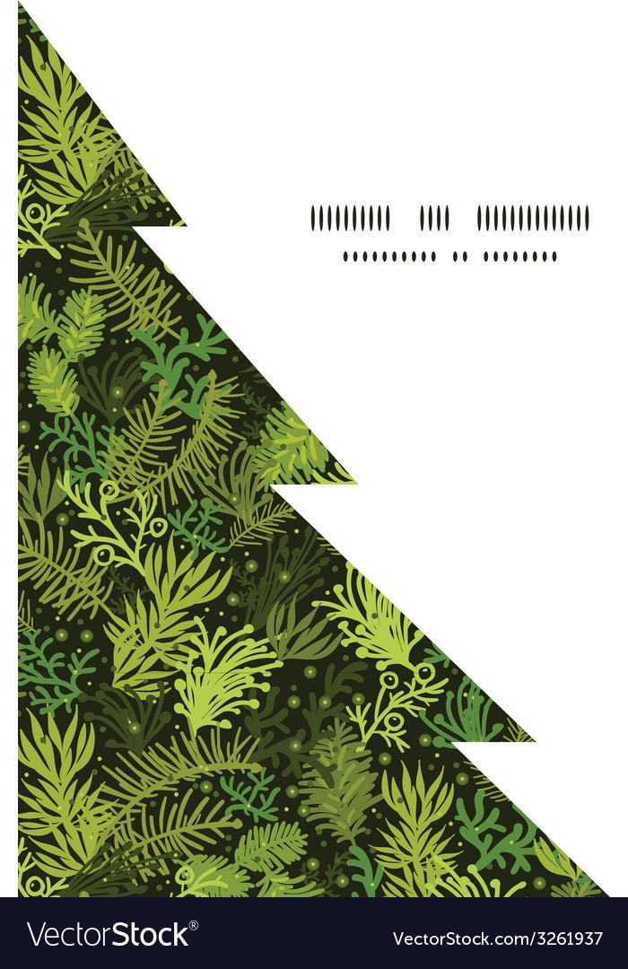 Evergreen christmas tree christmas tree silhouette vector   Price: 1 Credit (USD $1)