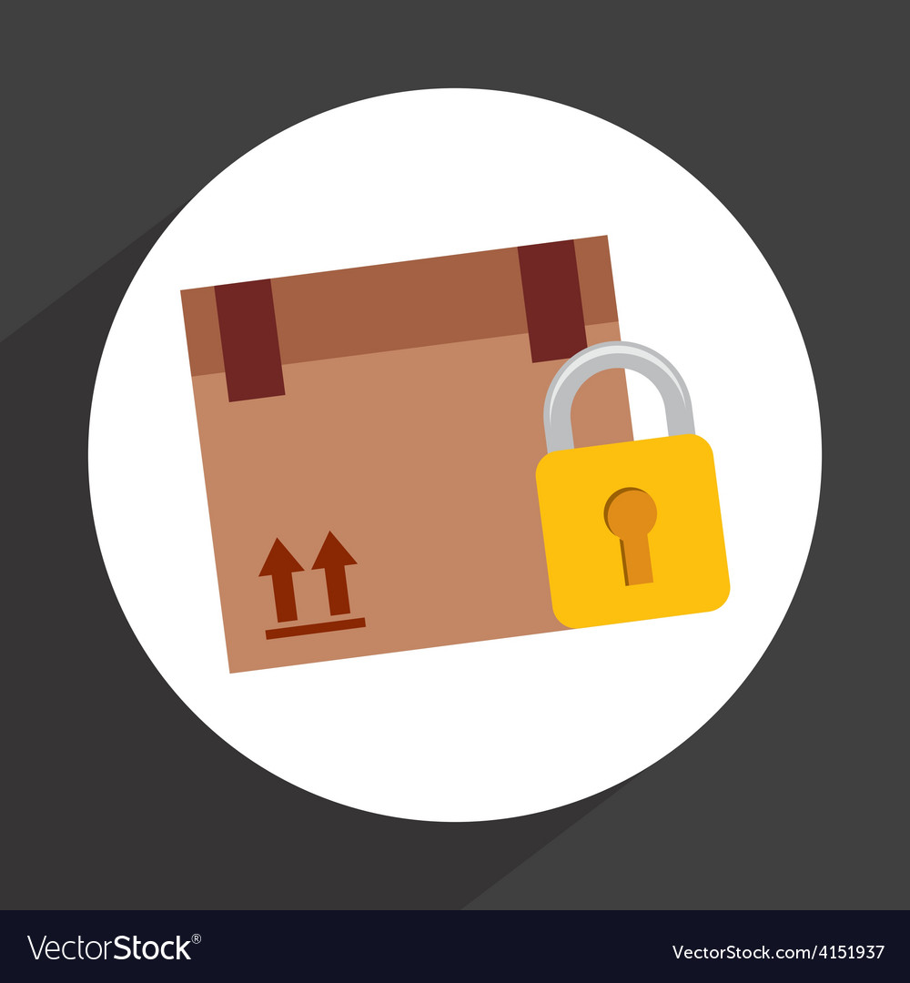 Secure delivery vector | Price: 1 Credit (USD $1)