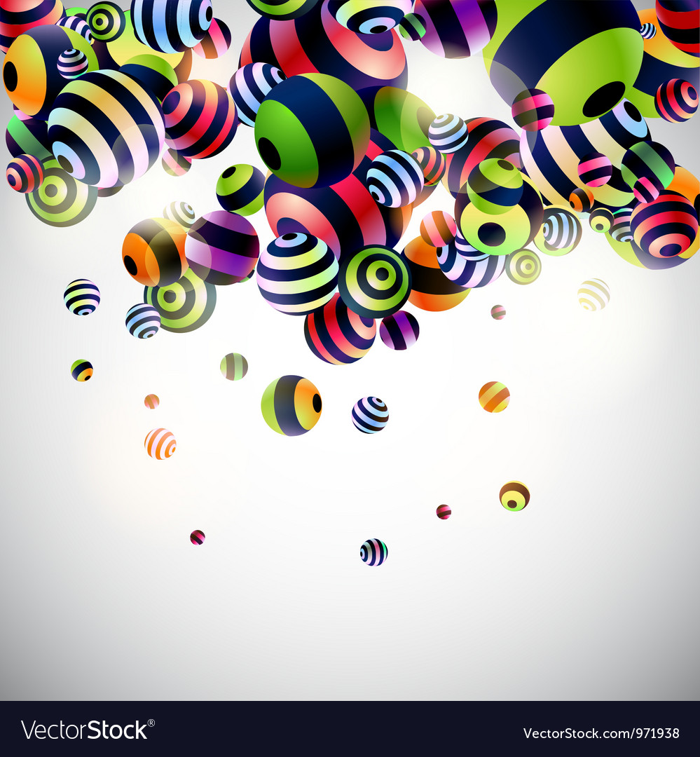 Abstraction 3d background vector | Price: 1 Credit (USD $1)