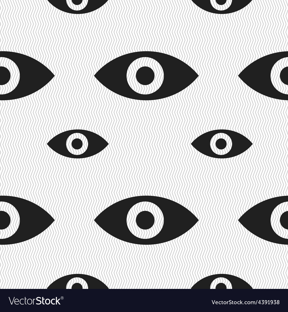 Eye publish content sixth sense intuition icon vector | Price: 1 Credit (USD $1)
